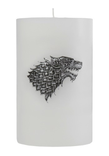 Game of Thrones Stark Large Insignia Candle