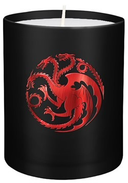 Game of Thrones House Targaryen Glass Candle Update Main