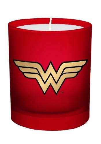 DC Comics Wonder Woman Glass Candle