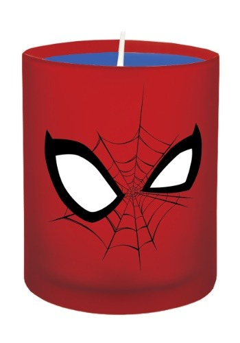 Marvel Spider-Man Glass Candle