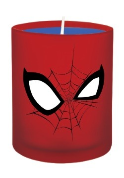 Marvel Spider Man Glass Candle