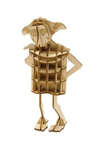 Harry Potter Dobby 3D Wood Model & Book1