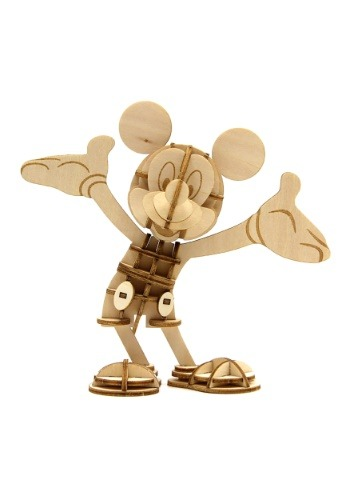 Mickey Mouse 3D Wood Model & Book1