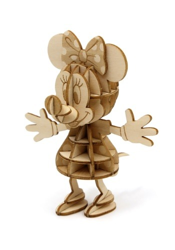Minnie Mouse 3D Wood Model & Book1