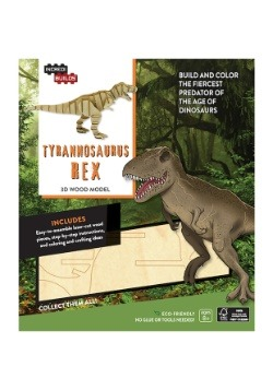 Tyrannosaurus Rex 3D Wood Model2