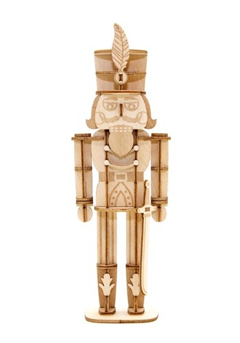 Nutcracker 3D Wood Model with Background Display1