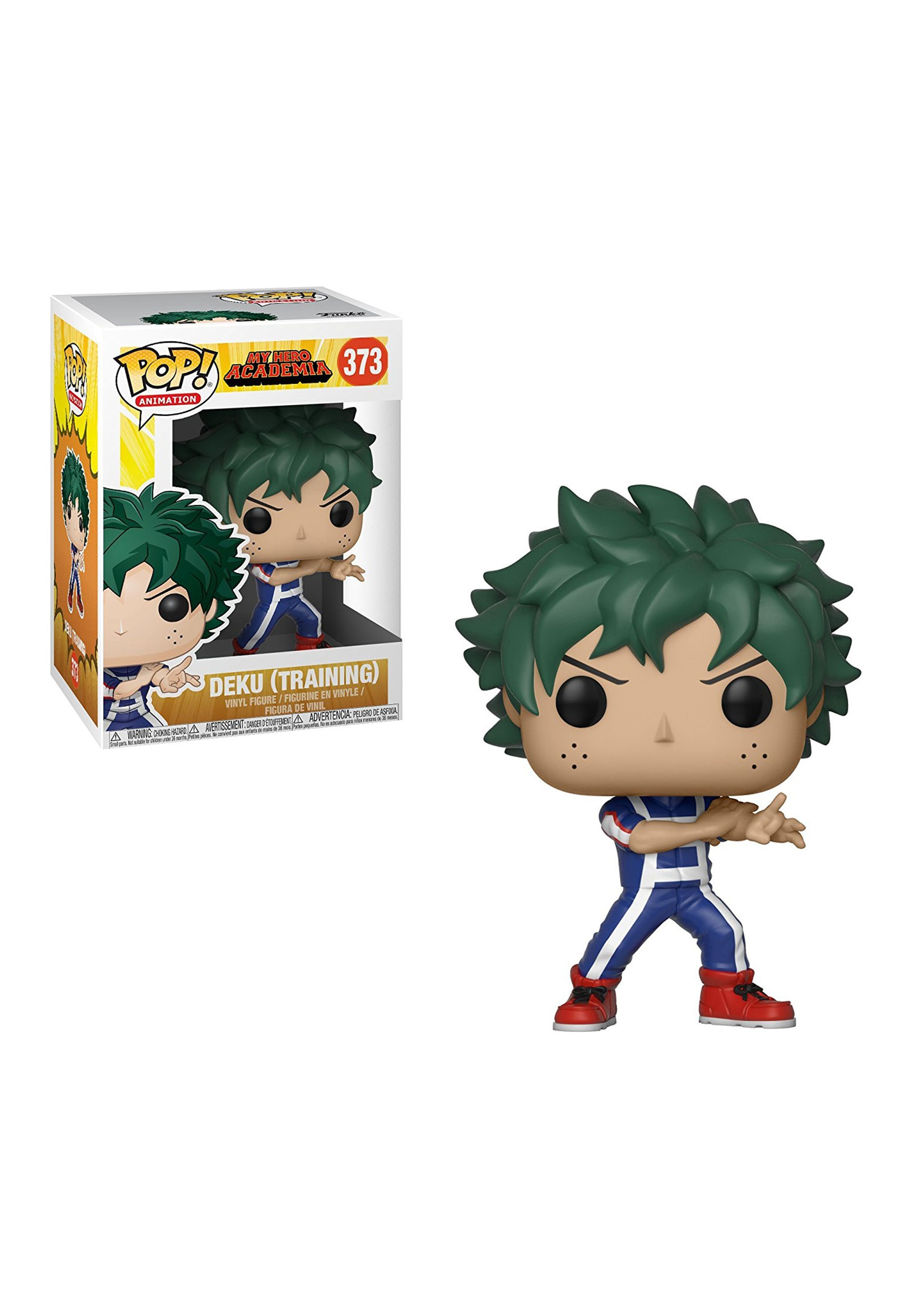 Pop Animation My Hero Academia Deku Training Vinyl Figure