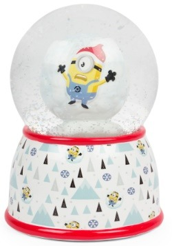 Despicable Me Minions Snow Globe Bank