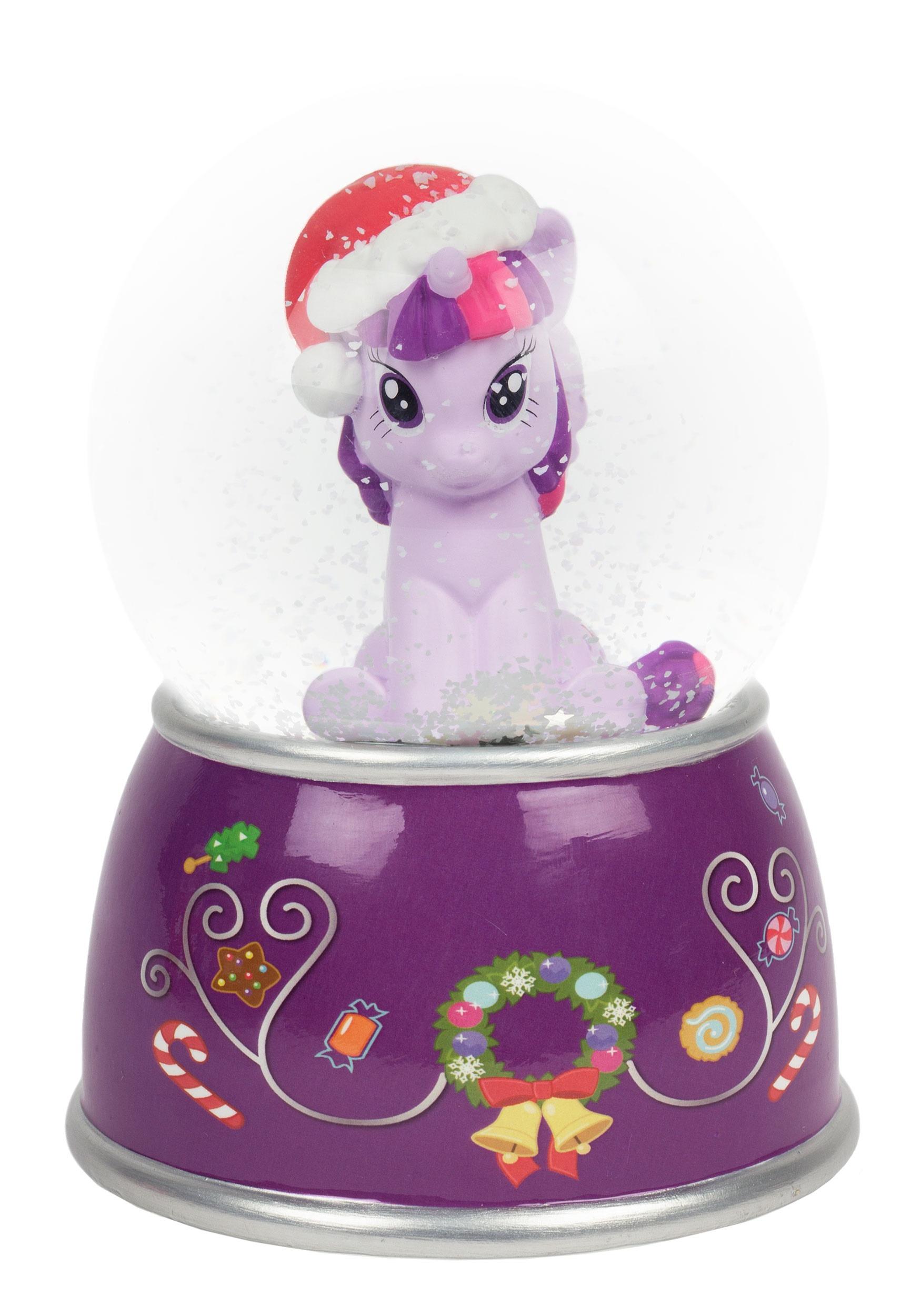 My Little Pony Christmas Snow Globe Bank