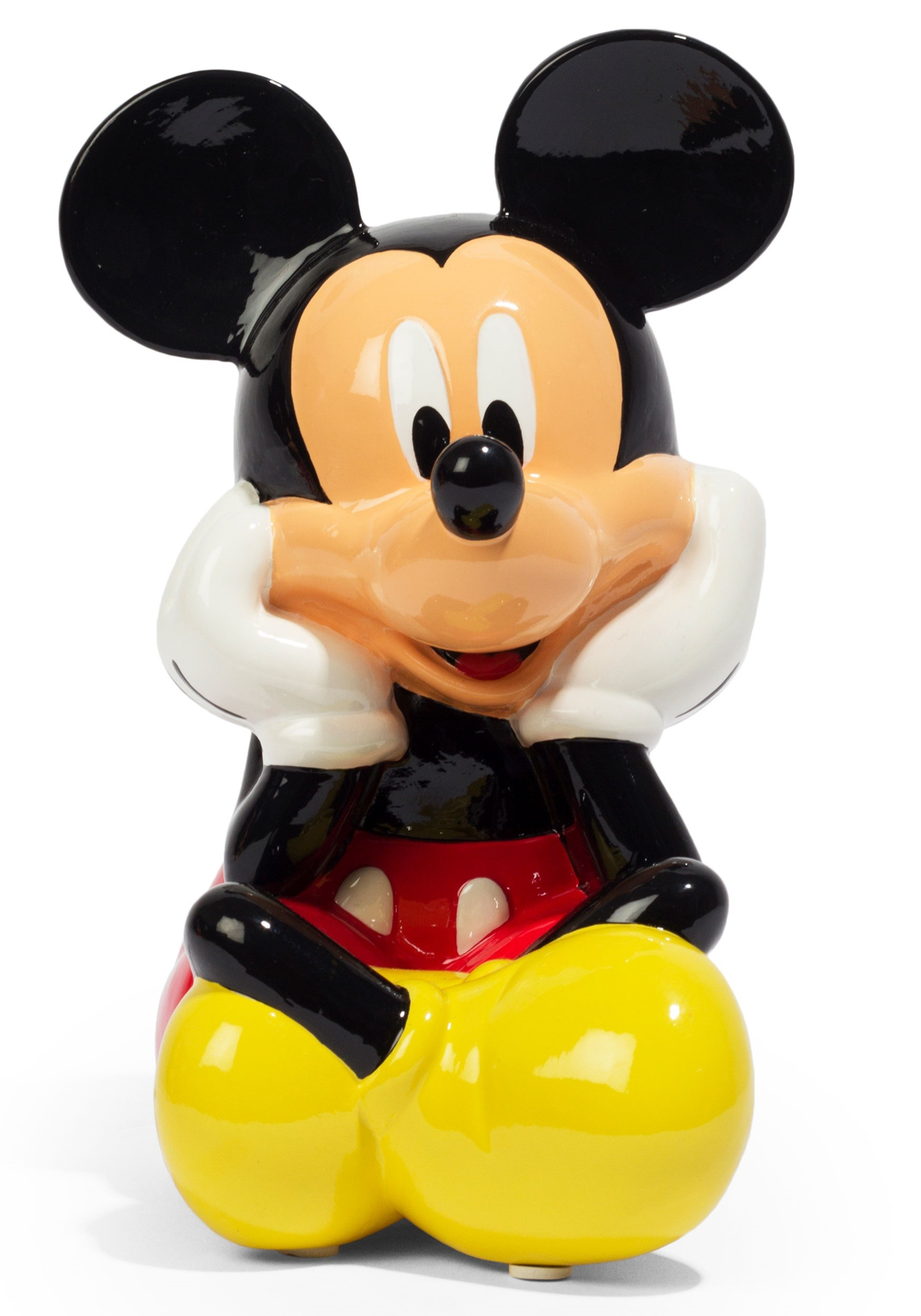 Ceramic Coin Bank - Disney Mickey Mouse