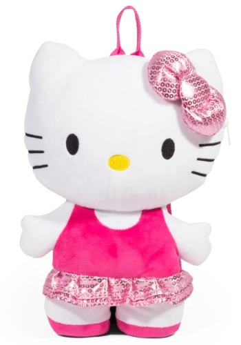 Hello Kitty Plush Backpack