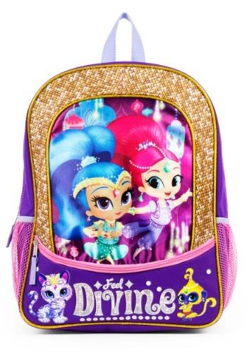 "Shimmer and Shine Feel Divine 16"" Backpack"