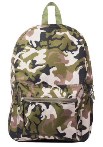 "Kids Camo Print 17"" Backpack Update1"