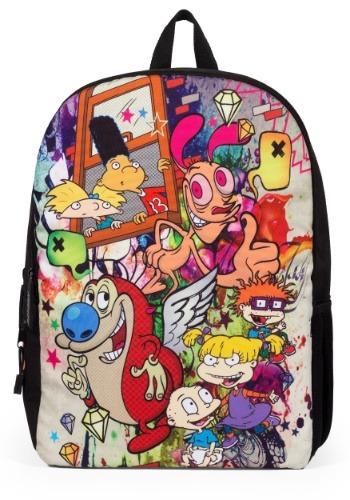 Mojo Life Nick Graffiti Mashup 90's Backpack