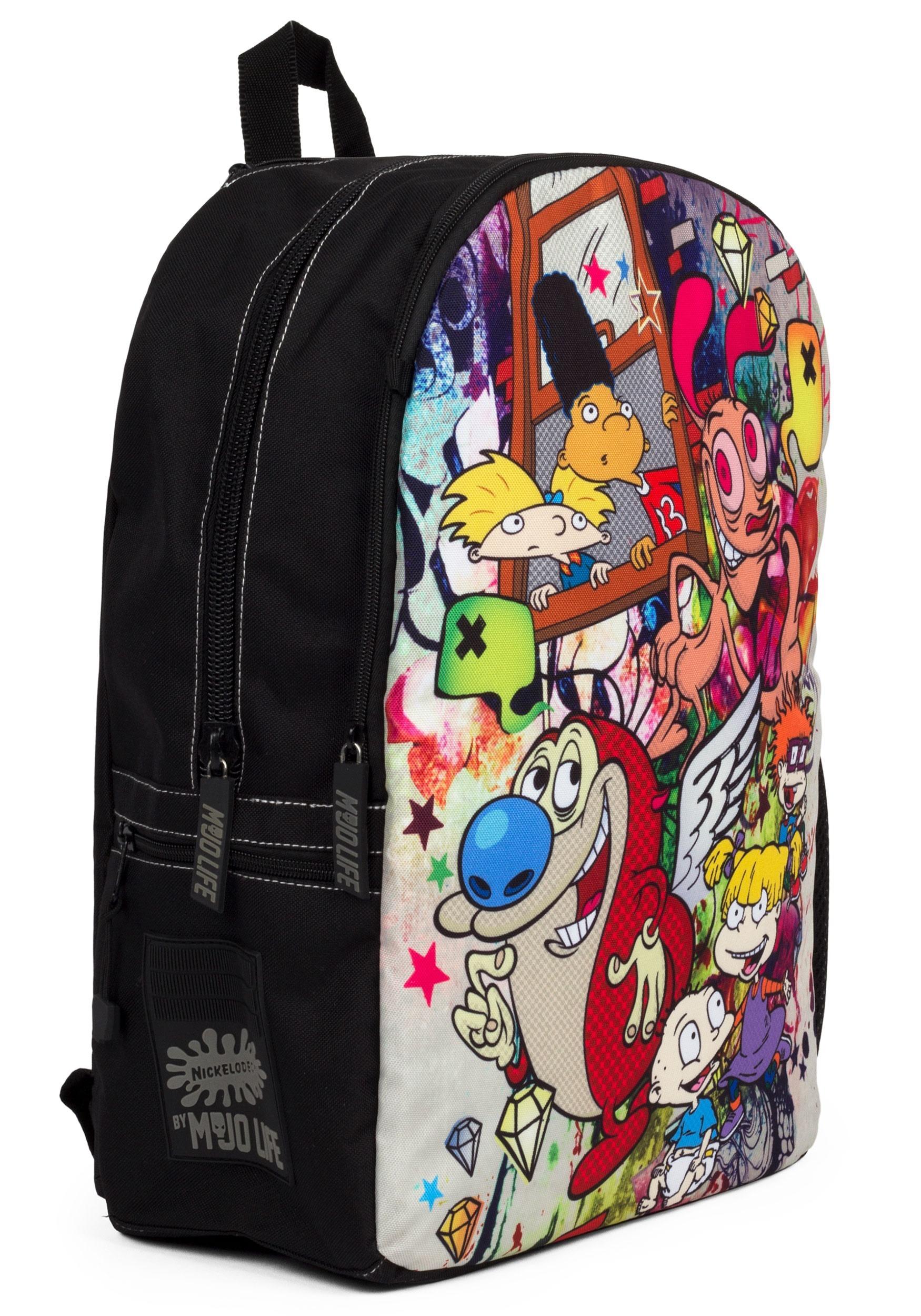 Mojo life nick graffiti mashup 90s backpack alt1