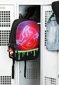 MOJO Ghostbusters Backpack with Glow in the Dark Zipper