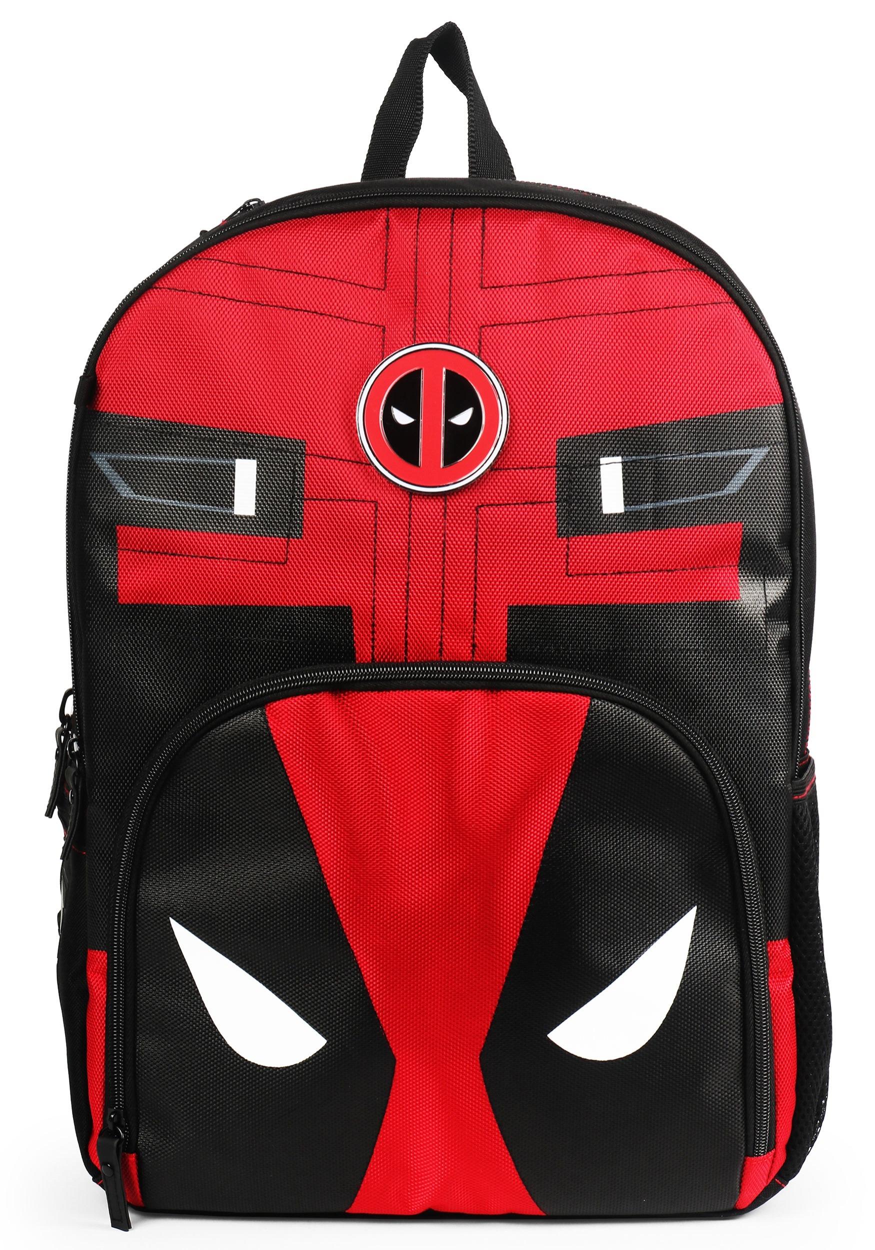 Mojo Marvel Deadpool Red Backpack