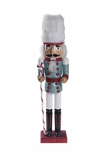 "16"" Peppermint Christmas Nutcracker"