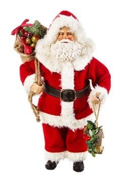 Classic 10 5 Santa Figurine