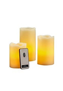 Realistic LED Candles with Remote