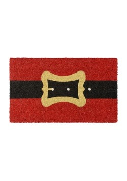 Santa Belt Christmas Doormat