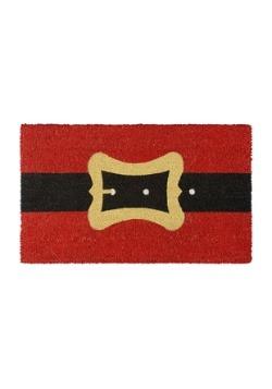 Santa Belt Christmas Doormat
