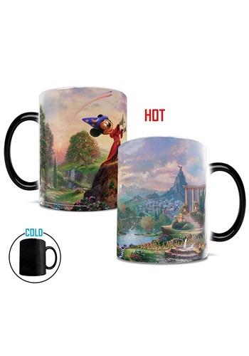 Thomas Kinkade Disney Mickey Mouse Fantasia Morphing Mug