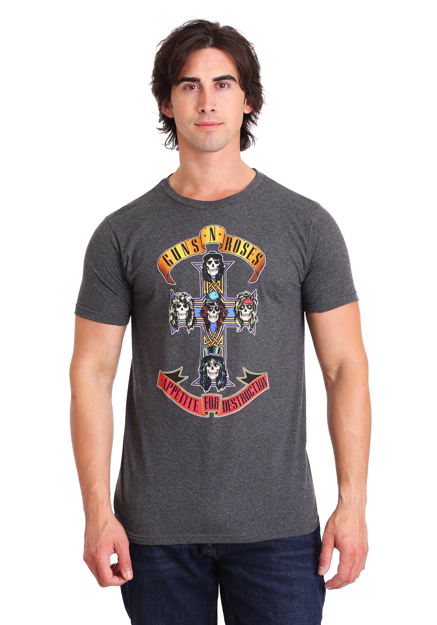 23c8e12d34d Guns N Roses Appetite for Destruction Adult T-Shirt