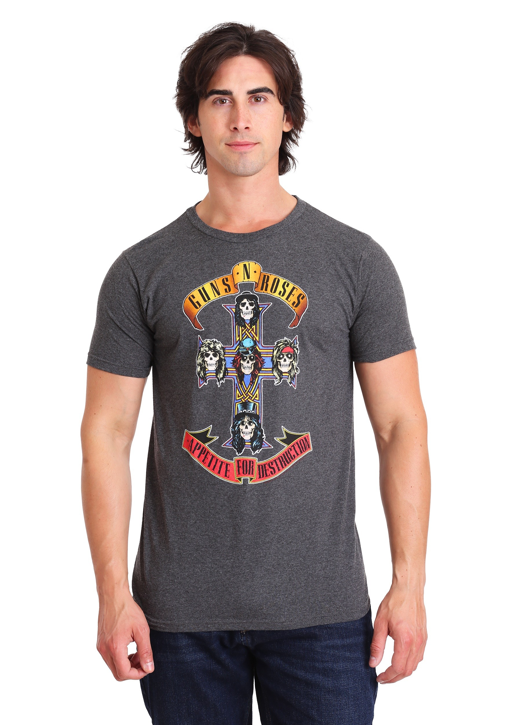 Guns N Roses Appetite for Destruction Adult T-Shirt