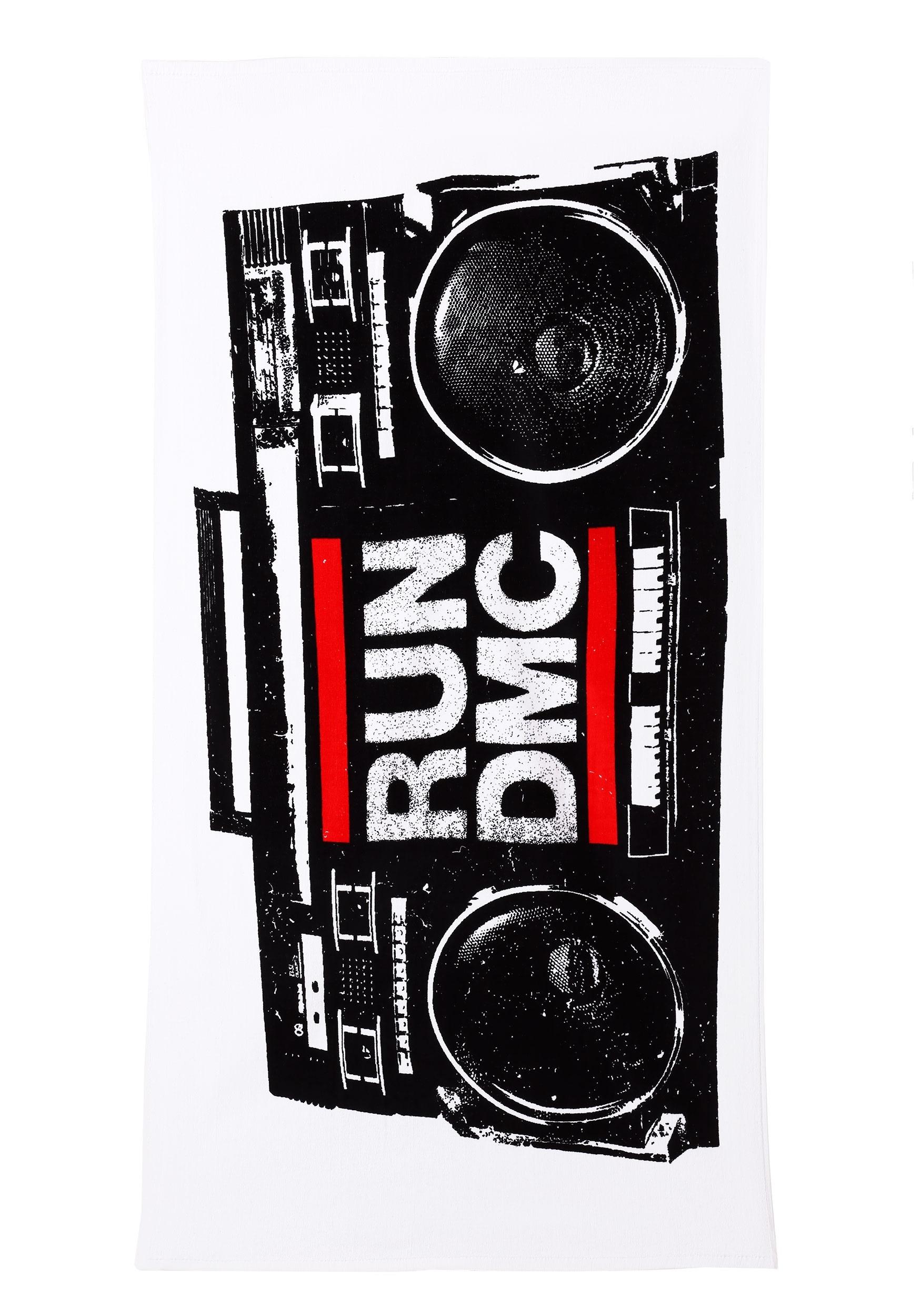 RUN DMC Stereo Beach Towel