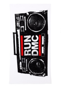 RUN DMC Stereo Beach Towel