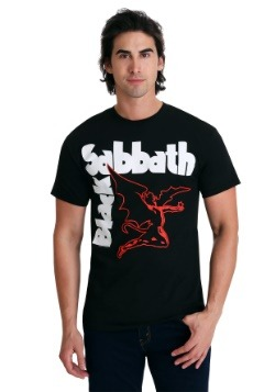 Mens Black Sabbath Creatures Black T-Shirt