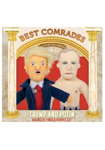 Best Comrades Trump and Putin Finger Puppet Set