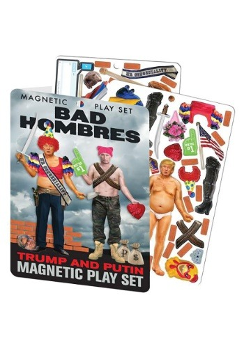 Bad Hombres Trump and Putin Magnetic Play Set