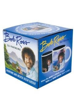 Bob Ross Self-Painting Heat Reveal Mug