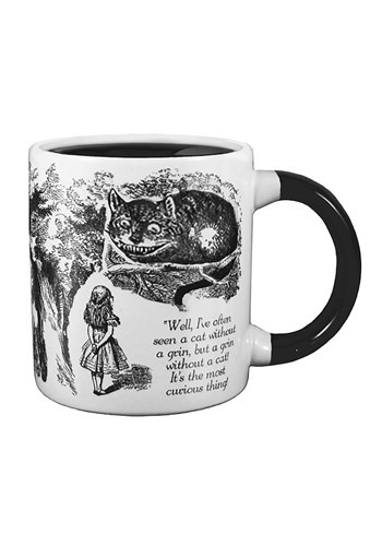 Disappearing Cheshire Cat Heat Reveal Mug