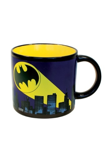 Bat Signal Heat Reveal Mug