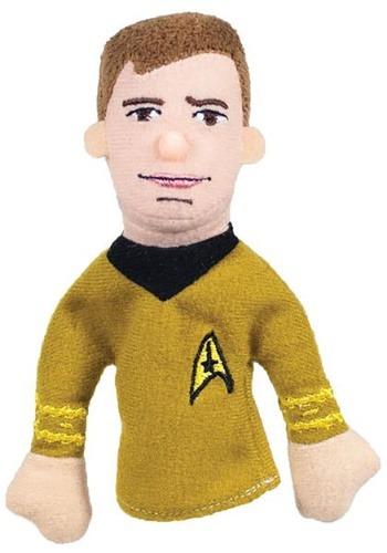 Star Trek Captain Kirk Finger Puppet and Refrigerator Magnet