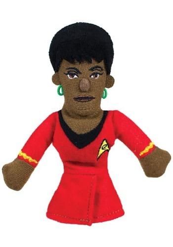 Star Trek Uhura Finger Puppet and Refrigerator Magnet