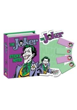 DC Comics The Joker Sticky Note Booklet