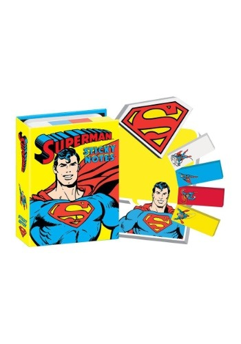 DC Comics Superman Sticky Note Booklet