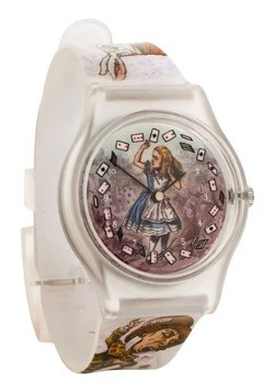 Alice in Wonderland Analog Watch