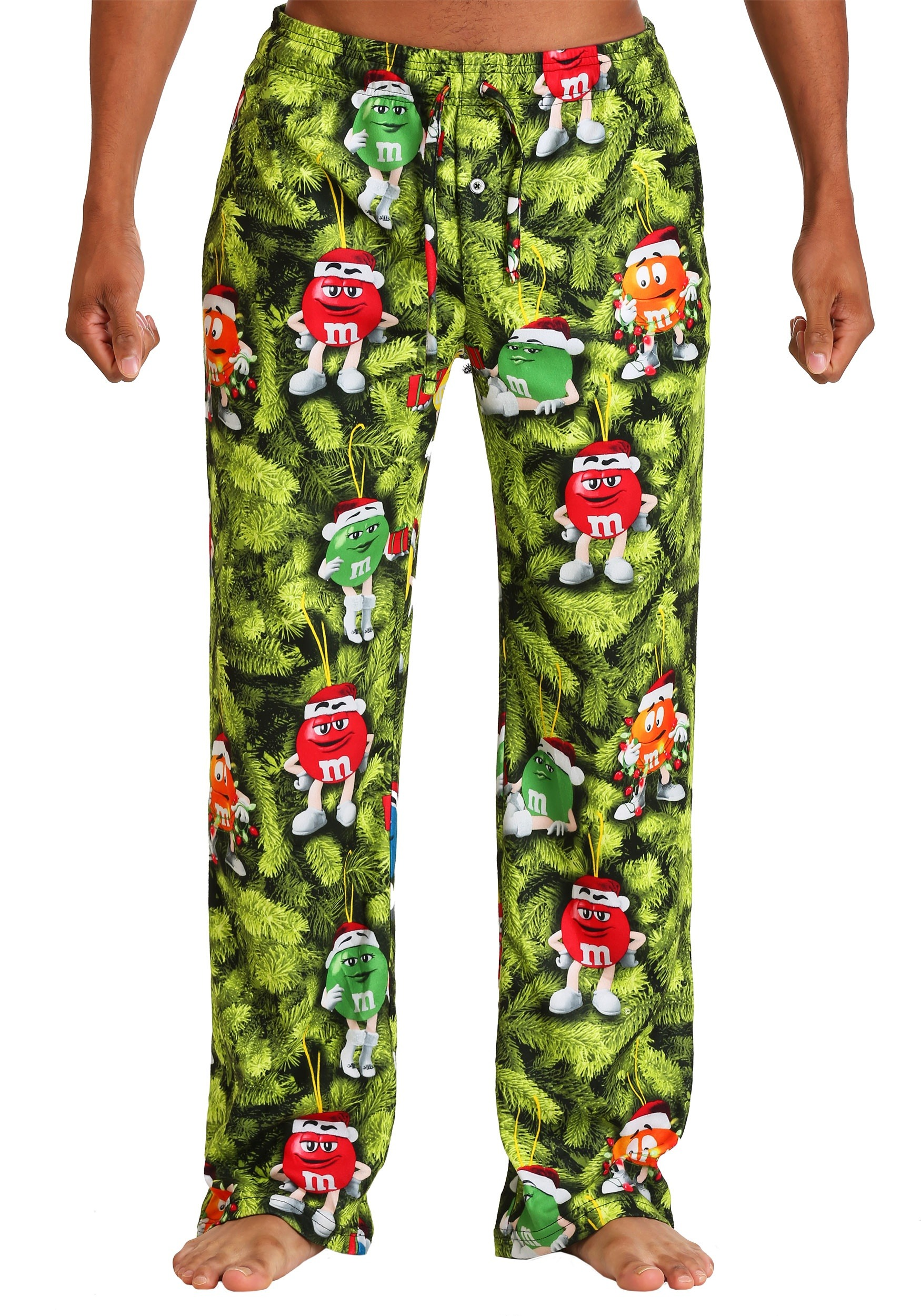 Mens Christmas Pajamas.M M S Christmas Tree Lounge Pants For Men