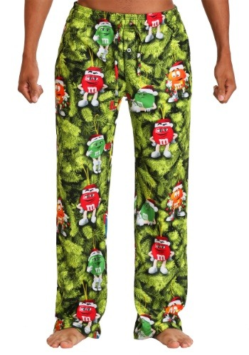 M&M's Christmas Tree Lounge Pants For Men