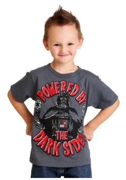 Star Wars Darth Vader Powered By the Dark Side Boys T Shirt-