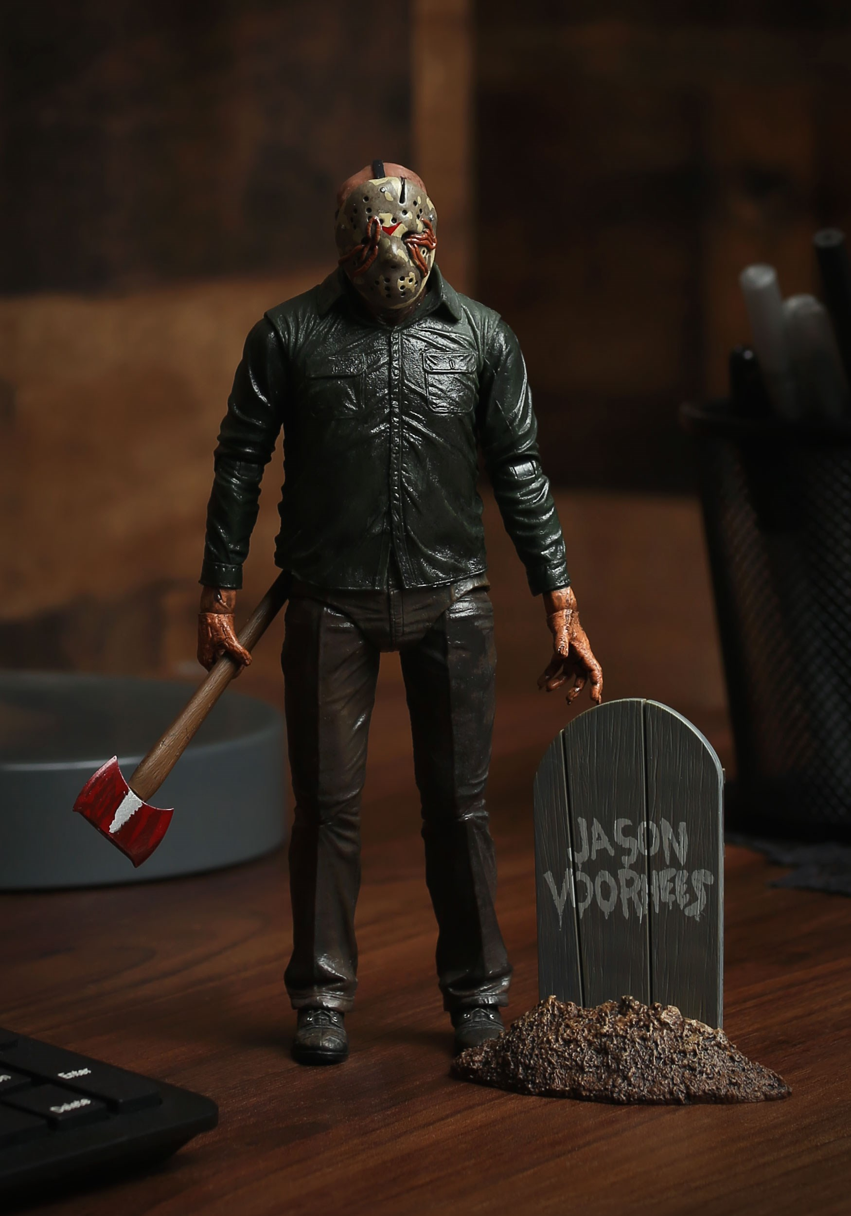 "friday the 13th part 5 dream jason 7"" scale action figure"