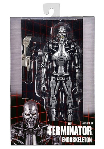 """Terminator 7"""" Scale Endoskeleton Action Figure"""