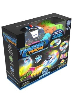 Neon Glow Mindscope Twister Tracks Police Chase Set