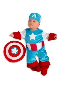 Infant Captain America Costume