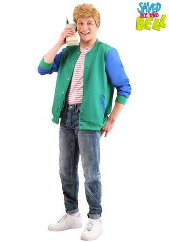 Zack Morris Saved by the Bell Adult Costume